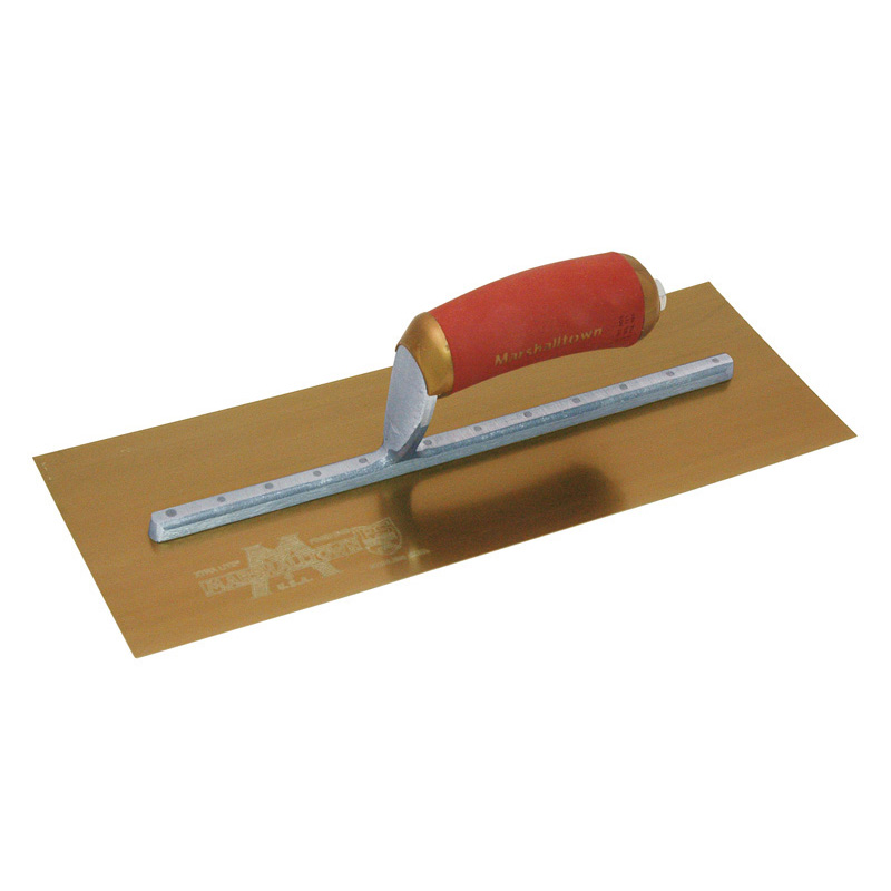 "13"" X 5"" GOLD STAINLESS STEEL PERMA SHAPE TROWEL"